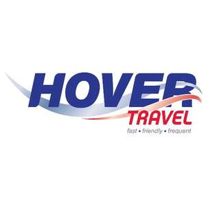 Hovercraft flight day return for £6 per child & £12 per adult when you travel by train @ Hover Travel