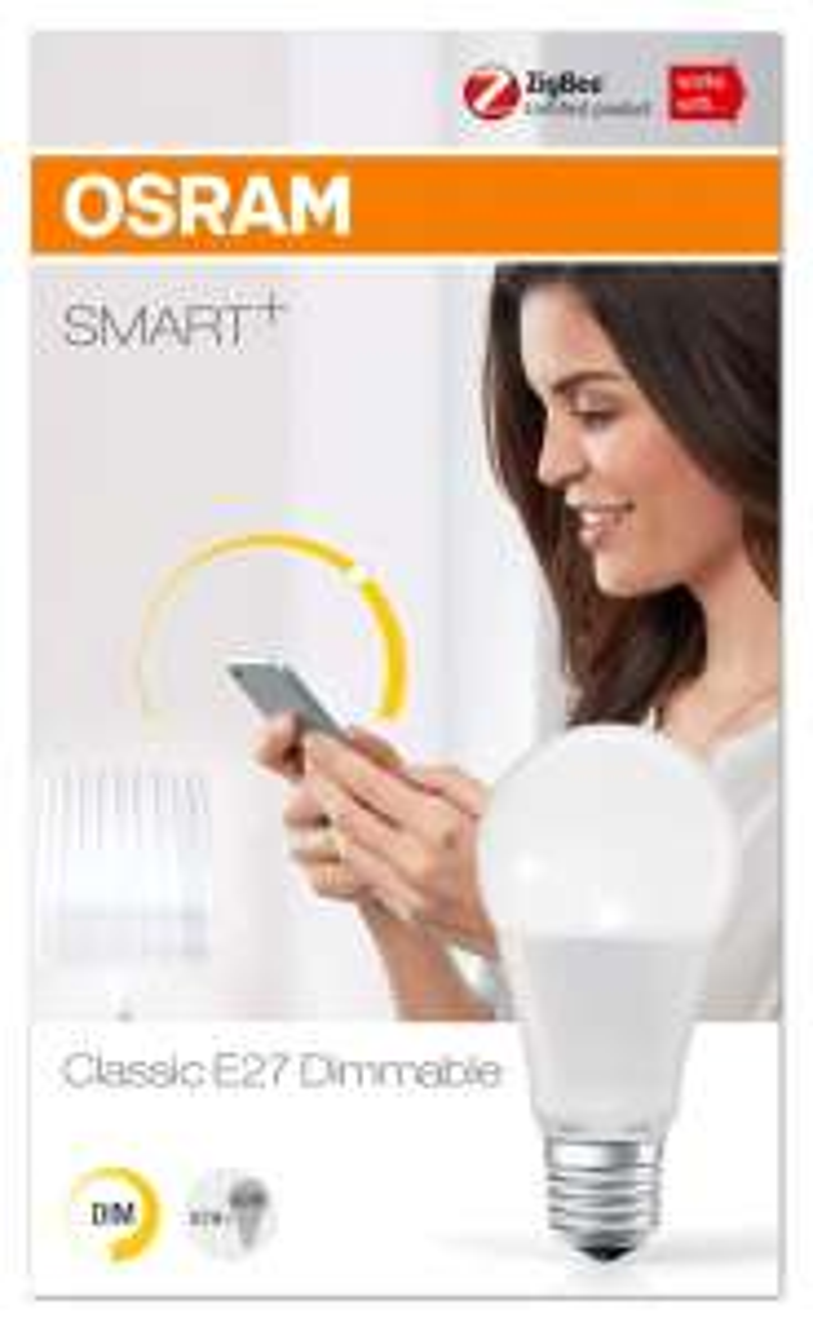 £2.97 (Prime) £7.46 (Non Prime) normally £11.99 each OSRAM Smart+ LED, ZigBee Lamp @ Amazon