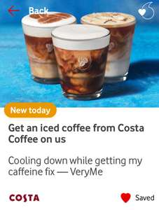 Get an iced coffee from Costa Coffee on us Cooling down while getting my caffeine fix — VeryMe
