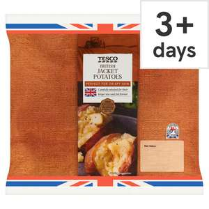 (From 20th August / Fresh 5 Offers) Jacket Potatoes 700G £ 0.45 / Sweetcorn Corbettes 4 Pack & Finest Venezia Potatoes 750G £ 0.79 @ Tesco
