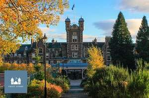 1 or 2 night stay for two with breakfast, 2 course dinner, Prosecco and leisure access 4* Crieff Hydro Hotel from £119 @ ITISON