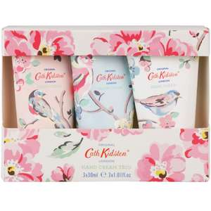 Cath Kidston Hand Cream Trio - 3 x 30 ml Now £4.99 (Prime) £9.48 (Non Prime) @ Amazon