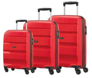 American Tourister Bon Air 3 Piece Hardside Suitcase Set, Red £109.99 at Costco