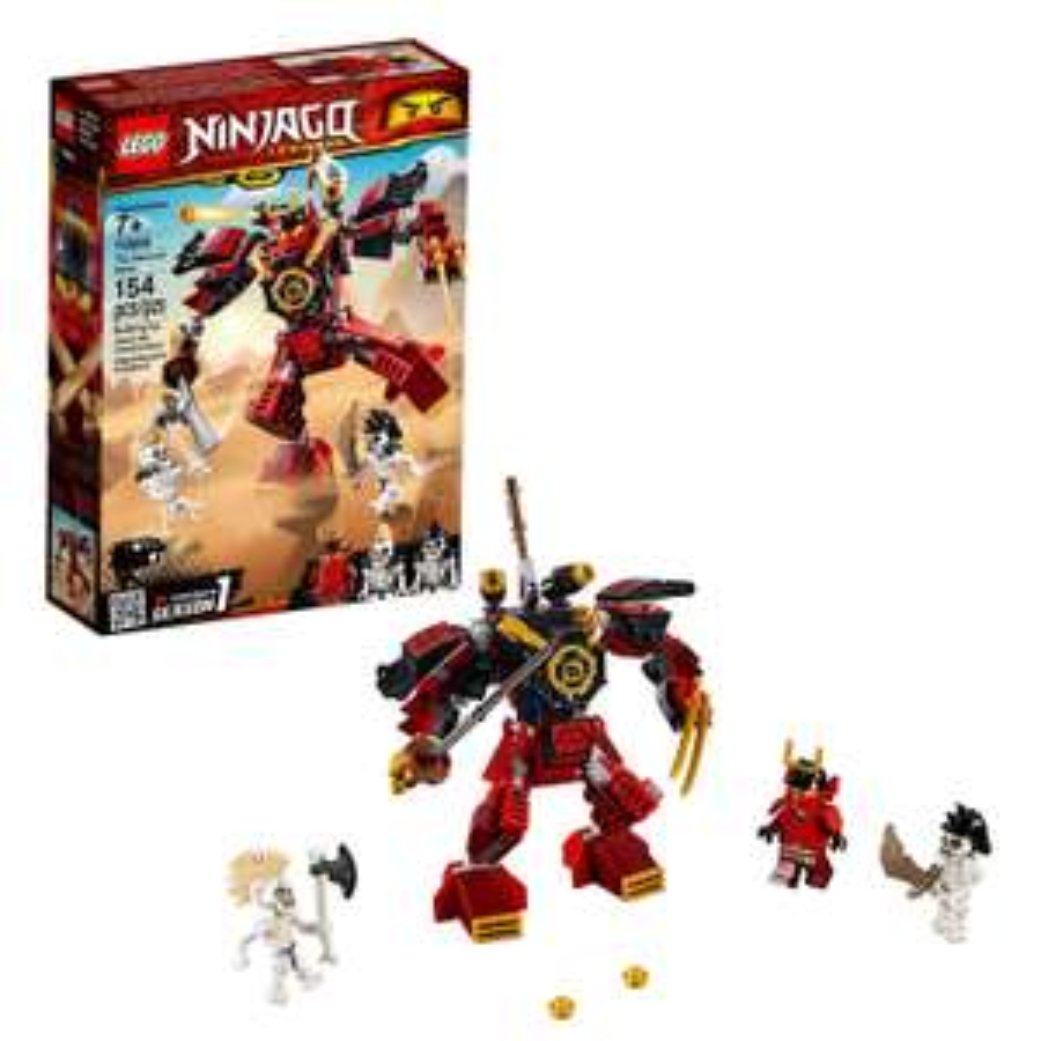 LEGO Ninjago 70665 The Samurai Mech now £10 (Prime) + £4.49 (non Prime) at Amazon