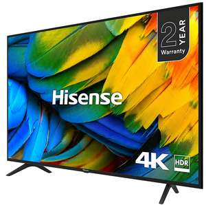 """65"""" Hisense (Works with Alexa) H65B7100UK Smart 4K Ultra HD TV with HDR10 +2 Year Warranty- £599 (£524 with Tradein & Free TV Placement)@ AO"""
