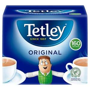 160 Tetley tea bags £1.41 Tesco in store (Coventry)