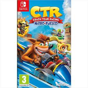 Crash Team Racing Nitro-Fueled Switch £24.95 @ CoolShop (used)