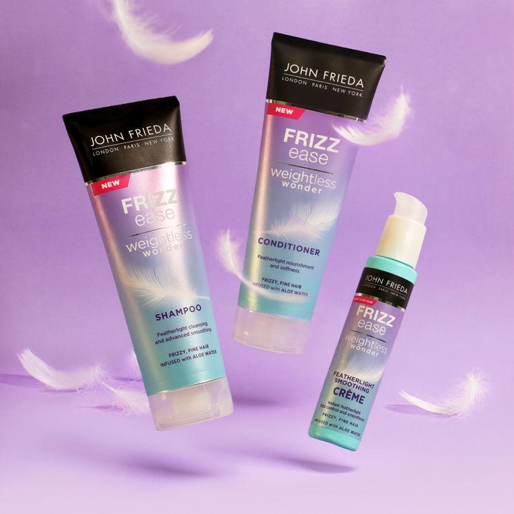 Free samples of John Frieda Shampoo & Conditioner via SoPost