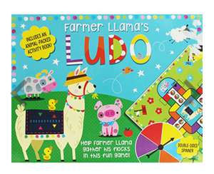 Farmer Llama's Ludo Game rrp £14.99 now £1 in store The Works Castleford
