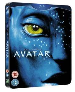 Avatar: Limited Edition Steelbook on Blu-Ray £2.69 delivered @ MusicMagpie