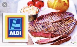 Big Daddy Rump Steak @ Aldi - £4.99