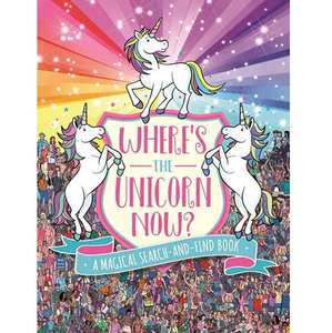 Where's the Unicorn Now? (Search and Find Activity) - £3 (Prime) £5.99 (Non Prime) @ Amazon