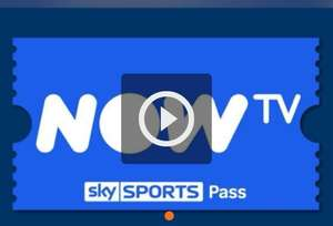 Now TV Sky Sports 1 Week Pass Prepaid CD Key - £4.10 @ Gamivo / Discount Digital