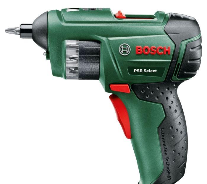 Bosch PSR Select 3.6V Screwdriver £24 at Homebase