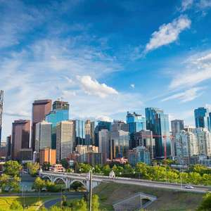 Direct return flight to Calgary £290 (Departing London Heathrow / November Departures / Air Canada) @ Lufthansa