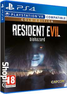 Resident Evil 7 Gold Edition PS4 £15.85 New & delivered @ ShopTo