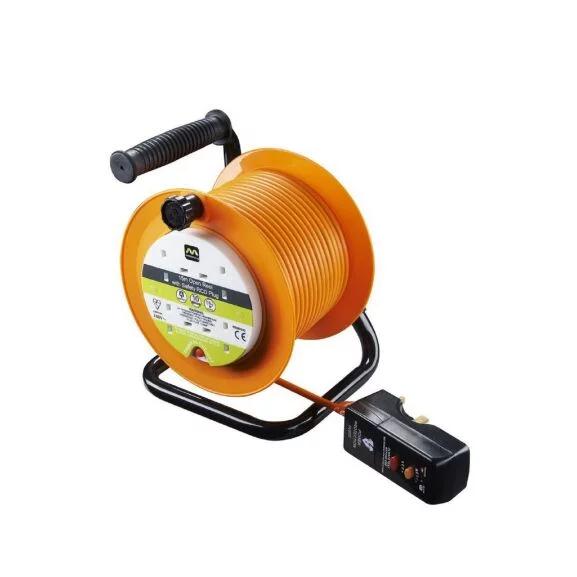 Masterplug 4 Gang 10A Open Reel with Safety RCD Plug - 15m £12 @ Homebase - (Free C&C)