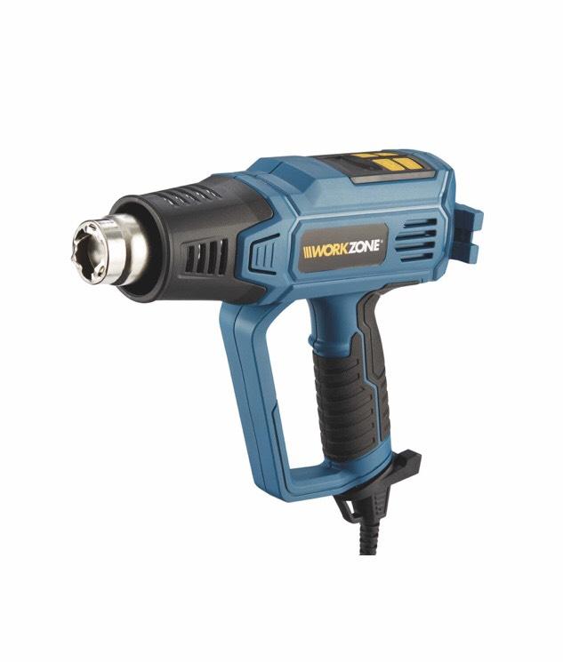 Workzone Digital Heat Gun & 3 Yrs Warranty £9.99 instore at Aldi