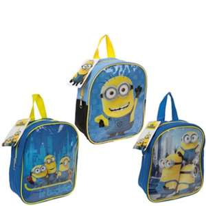 DESPICABLE ME 2 'MINIONS' Small Backpack 3 Designs £1.99 delivered @ theclearancekinguk ebay