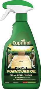 Cuprinol ultimate furniture oil £1 500ml in store @ B&M
