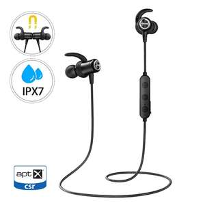 Mpow S11 Sports Wireless Earphones - aptX /  Bluetooth 5.0 / Magnetic - £13.99 Prime / £18.48 Non Prime Sold by HBH LTD and FBA