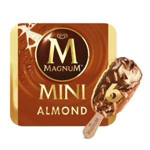 Magnum Mini Almond flavour 6 pack £1 at Iceland Instore