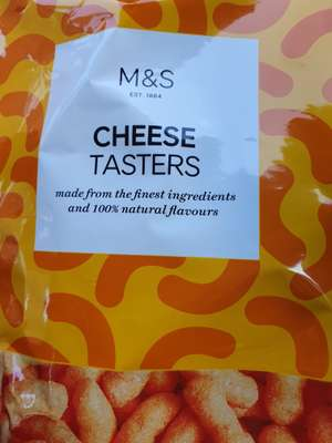 270g Cheese tasters for 50p @ Marks and Spencer