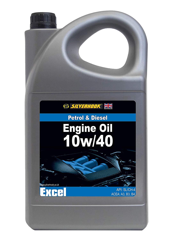 SILVERHOOK shlk3 10w/40 Engine Oil, Blue Label, 5 L  £6.80 + £4.49 delivery Non Prime @ Amazon