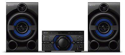 Sony MHC-M20D High Power Bass Reflex FM CD USB Bluetooth 3 Box HiFi System £115.99 - Refurbished at eBay Argos