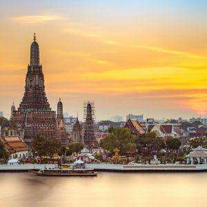 Return flights London to Bangkok (Via Bahrain) £417 pp Gulf air @ Travel Trolley
