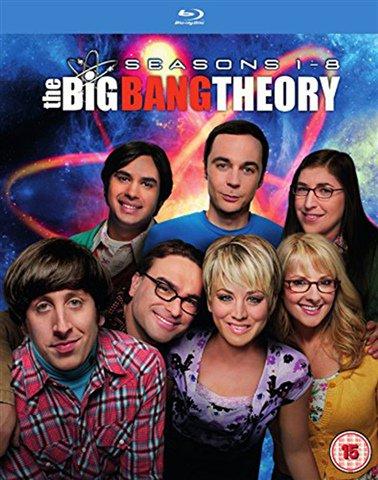 Used: Big Bang Theory Seasons 1-8 Blu-Ray Boxset for £10 @ CEX or £8 For Seasons 1-7 Boxset.