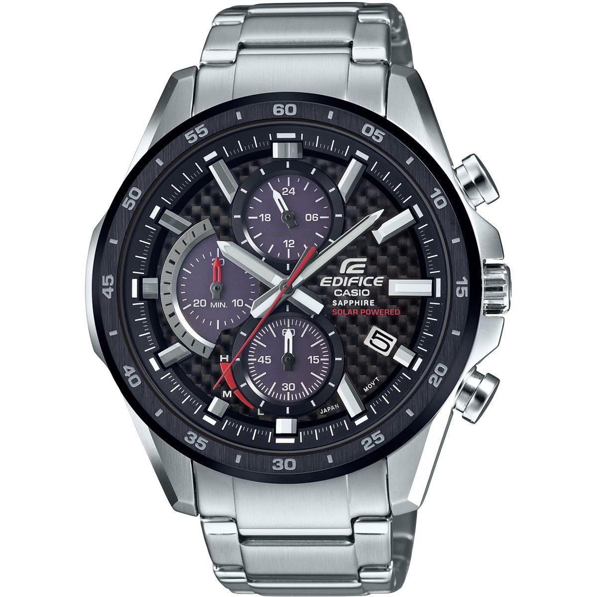 Casio Edifice Sapphire Solar Retrograde Watch - £89  at Watches2U