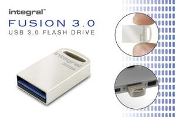 Integral USB 3.0 Flash Drive Metal Fusion 16GB - £1.50 / 32GB - £3 @ Wilko (c&c £2 - more in op)