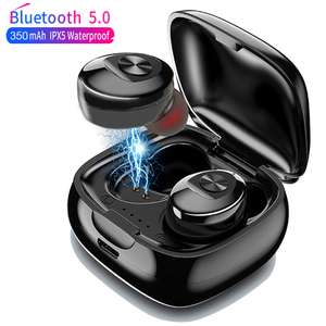XG12 TWS Bluetooth 5.0 Earphone Stereo Wireless Earbus HIFI Sound Sport Earphones Handsfree Gaming Headset - £9.03 @ Ali Express