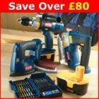 Ryobi 18v 4 piece pack only £127.22 @ Screwfix delivered + 6% Quidco and 5% voucher below.