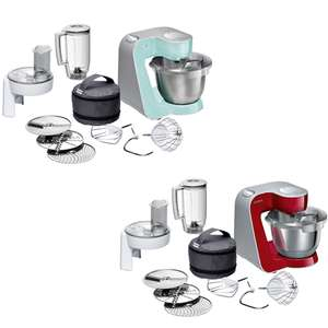Bosch 1000W Stand Mixer - 12 accessories included - Red or Turquoise £149 with Free Next Day Delivery @ AO