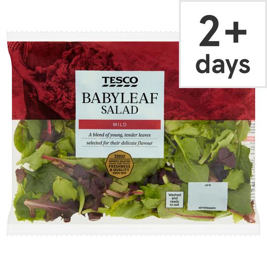 Tesco Babyleaf Salad 60G 39p @ Tesco