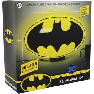 Batman XL Touch Activated Inflatable Light now £5 (Click & Collect) @ The Works