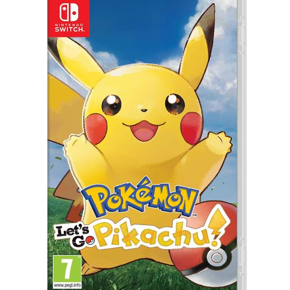 Pokémon: Let's Go, Pikachu! (Nintendo Switch) £29.99 at Amazon