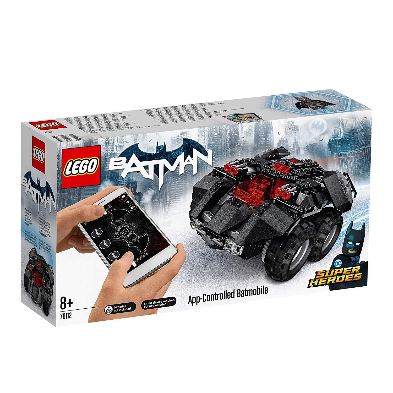 LEGO 76112 DC Comics Batman App Controlled Batmobile now £56.66 delivered at Amazon