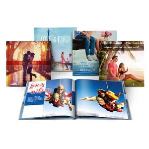 Personalised Hardback Photobook - A5 20 Page £8.08 /  A5 40 Page £8.78 / A4 20 Page £8.78 - Delivered W/code via Groupon / Printerpix