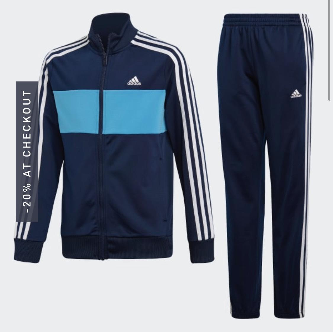 Boys Training Adidas Tiberio Tracksuit - £19.57 @ Adidas