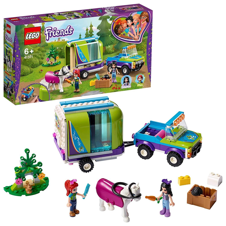 LEGO 41371 Friends Mia's Horse Trailer now £15 (Prime) + £4.49 (non Prime) at Amazon