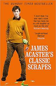 James Acaster's Classic Scrapes book £2.40 at The Works (free C&C)
