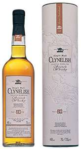Clynelish 14 Years Old Single Malt Scotch Whisky, 70cl £36.99 at Amazon