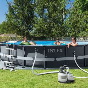 Intex 20ft x  1.2m XTR Round Ultra Frame Pool - Includes Ladder & Pump £499.99 Delivered @ Costco