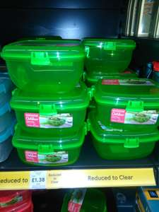 Sistema 1.63L Salad Box £1.38 at Tesco Stretford Manchester