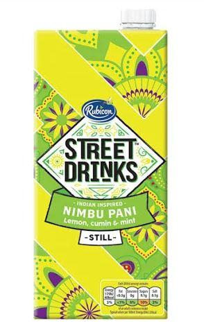 Rubicon Street Drinks 83p for 1litre at Tesco instore