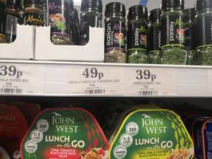 Choice of dry herbs from 39p @ Home Bargains Prenton / Wirral