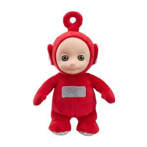 Teletubbies 06107 Cbeebies Talking Po Soft Toy, Red £5.99 delivered with Prime / £10.48 Non-Prime @ Amazon